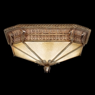 Fine Art Lamps 618440 Pastiche Traditional Silver Fluorescent Ceiling Lighting Fixture