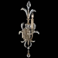 Fine Art Lamps 704950 Beveled Arcs Tall 1-light Crystal Candle Sconce Light