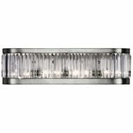 Fine Art Lamps 706550 Crystal Enchantment Silver Lighting For Bathroom