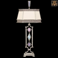 Fine Art Lamps 730310-1 Encased Gems Gold Table Lamp Lighting with Multi-Colored Gems