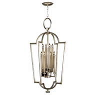 Fine Art Lamps 780440 Allegretto Silver Fluorescent Entryway Light Fixture