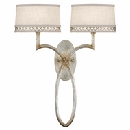 Fine Art Handcrafted Lighting 784750 Allegretto Silver Fluorescent Wall Mounted Lamp