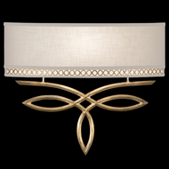 Fine Art Lamps 785650-2 Allegretto Gold Wide ADA 1-light Wall Sconce Lighting
