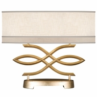 Fine Art Handcrafted Lighting 785710-2 Allegretto Gold Fluorescent Table Top Lamp