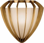 Fine Art Handcrafted Lighting 786450-2 Staccato Gold Fluorescent Wall Sconce