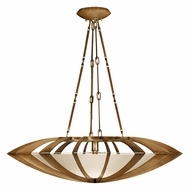 Fine Art Handcrafted Lighting 787040-2 Staccato Gold Fluorescent Hanging Light