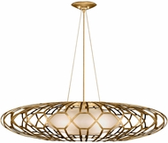 Fine Art Handcrafted Lighting 798540-2 Allegretto Gold LED Ceiling Light Pendant
