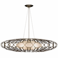 Fine Art Handcrafted Lighting 798540 Allegretto Silver LED Drop Ceiling Lighting