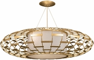 Fine Art Handcrafted Lighting 798640-2 Allegretto Traditional Gold LED Drop Ceiling Light Fixture