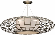 Fine Art Handcrafted Lighting 798640 Allegretto Traditional Silver LED Ceiling Pendant Light