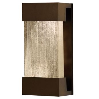 Fine Art Handcrafted Lighting 810850-13 Crystal Bakehouse Contemporary Bronze LED Wall Sconce Lighting