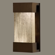 Fine Art Lamps 810850-13 Crystal Bakehouse Small 14 Inch Tall Bronze Finish Crystal Neutral Wall Lighting