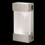 Fine Art Lamps 810850-23 Crystal Bakehouse Small Silver Crystal Spire