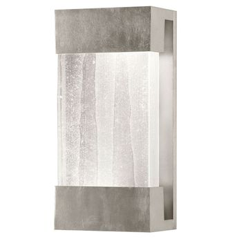 Fine Art Handcrafted Lighting 810850-33 Crystal Bakehouse Contemporary Silver LED Wall Sconce Lighting