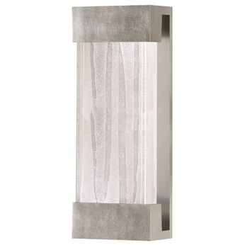 Fine Art Handcrafted Lighting 810950-33 Crystal Bakehouse Modern Silver LED Wall Light Sconce