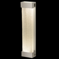 Fine Art Lamps 811150-23 Crystal Bakehouse Extra Large Crystal Spire Wall Lighting Fixture - Silver