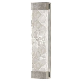 Fine Art Handcrafted Lighting 811150-34 Crystal Bakehouse Silver LED Wall Sconce Lighting
