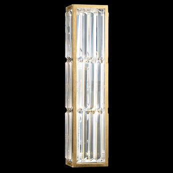 Fine Art Handcrafted Lighting 811250-2 Crystal Enchantment Traditional Gold LED Wall Light Sconce