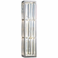 Fine Art Handcrafted Lighting 811250 Crystal Enchantment Silver LED Wall Mounted Lamp