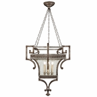 Fine Art Lamps 811940 Villa Vista Hand Painted Driftwood LED Foyer Light Fixture