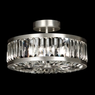 Fine Art Lamps 815740 Crystal Enchantment Semi Flush Mount Round 15 Inch Diameter Overhead Lighting
