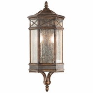 Fine Art Handcrafted Lighting 838081 Holland Park Traditional Antique Bronze Finish 10  Wide Exterior Wall Light Fixture