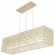 Fine Art Lamps 846740 Constructivism Contemporary 33  Wide Island Lighting