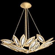 Fine Art Lamps 850440-22 Marquise Contemporary Gold LED Drop Lighting