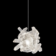 Fine Art Handcrafted Lighting 851840-202 Natural Inspirations Contemporary Gold LED Mini Pendant Lighting Fixture