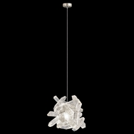 Fine Art Handcrafted Lighting 851840-202L Natural Inspirations LED Contemporary Gold LED Mini Hanging Pendant Lighting