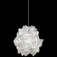 Fine Art Handcrafted Lighting 851840-203 Natural Inspirations Contemporary Gold LED Mini Hanging Pendant Light