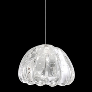 Fine Art Handcrafted Lighting 851840-207 Natural Inspirations Contemporary Gold LED Mini Ceiling Pendant Light