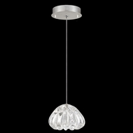 Fine Art Lamps 852240-107 Natural Inspirations Contemporary Silver LED Mini Hanging Pendant Lighting