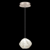 Fine Art Handcrafted Lighting 852240-26L Natural Inspirations LED Contemporary Gold LED Mini Drop Ceiling Light Fixture