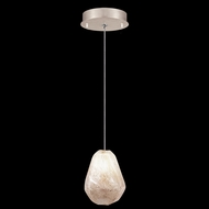 Fine Art Handcrafted Lighting 852240-29L Natural Inspirations LED Contemporary Gold LED Mini Hanging Lamp