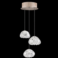 Fine Art Lamps 852340-207 Natural Inspirations Modern Gold LED Multi Drop Ceiling Lighting