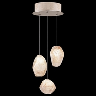 Fine Art Handcrafted Lighting 852340-24L Natural Inspirations LED Contemporary Gold LED Multi Hanging Lamp
