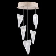 Fine Art Lamps 852440-208 Natural Inspirations Modern Gold LED Multi Hanging Light Fixture