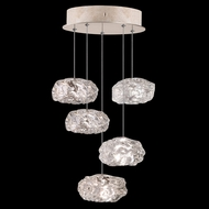 Fine Art Handcrafted Lighting 852440-21L Natural Inspirations LED Contemporary Gold LED Multi Ceiling Light Pendant