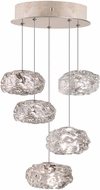Fine Art Lamps 852440-21ST Natural Inspirations Contemporary Gold Halogen Multi Hanging Light