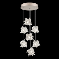 Fine Art Handcrafted Lighting 852640-202L Natural Inspirations LED Contemporary Gold LED Multi Ceiling Light Pendant