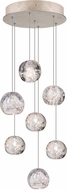 Fine Art Lamps 852640-206ST Natural Inspirations Contemporary Gold Halogen Multi Hanging Lamp