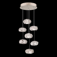 Fine Art Lamps 852640-21L Natural Inspirations LED Contemporary Gold LED Multi Hanging Light