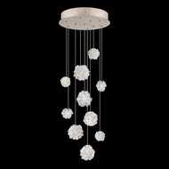 Fine Art Lamps 852840-205L Natural Inspirations LED Contemporary Gold LED Multi Pendant Lighting