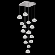 Fine Art Lamps 853040-107 Natural Inspirations Contemporary Silver LED Multi Drop Ceiling Lighting