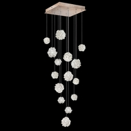 Fine Art Lamps 853040-205L Natural Inspirations LED Contemporary Gold LED Multi Hanging Light