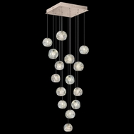 Fine Art Lamps 853040-206 Natural Inspirations Contemporary Gold LED Multi Pendant Light Fixture