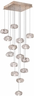 Fine Art Lamps 853040-21ST Natural Inspirations Contemporary Gold Halogen Multi Drop Ceiling Lighting