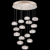 Fine Art Handcrafted Lighting 853140-21L Natural Inspirations LED Contemporary Gold LED Multi Lighting Pendant
