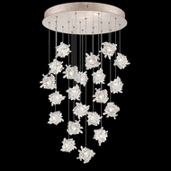 Fine Art Handcrafted Lighting 853240-202L Natural Inspirations LED Contemporary Gold LED Multi Hanging Light